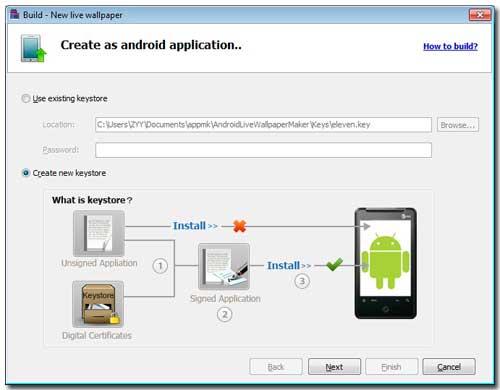 Build Android Live Wallpaper APK