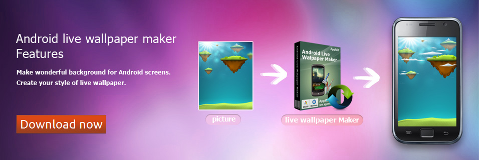 Android live wallpaper maker features