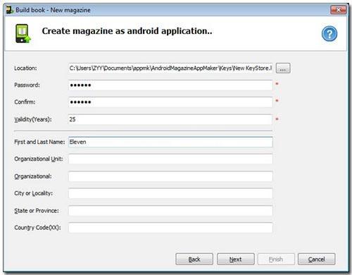 Build Magazine APP