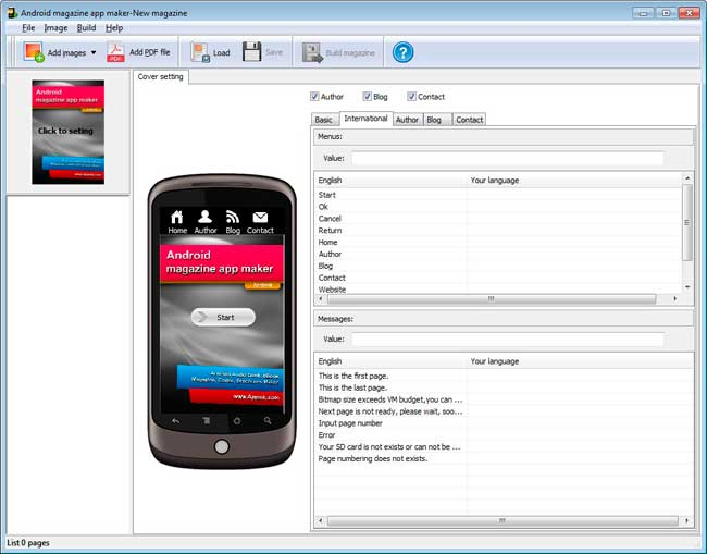 Is there software can convert PDF to flipping Android