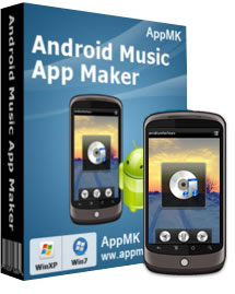 Convert Music files to APK files - Android music app maker