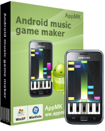 Android music game maker screenshot
